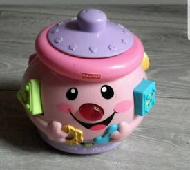 Fisher-Price number and shape toy