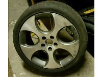 "Genuine 18"" VW BBS Monza Alloy Wheel"