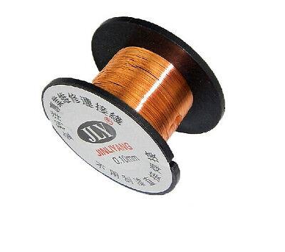 10pcs 0.1mm Copper Solder Soldering Ppa Enamelled Reel Wire