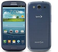 Samsung Galaxy S3 S-3 III SPH-L710 -16GB - Blue (Sprint) Smartphone Cell Phone