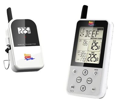 Maverick ET-733 Wireless Barbecue Funk-Thermometer Set, weiß - Wireless Barbecue Thermometer