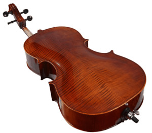 Full Size 4/4 Flamed Maple Professional Handcrafted Cello