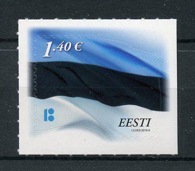 Estonia 2018 MNH Estonian Flag 1v S/A Set Flags Stamps