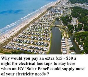 "Get your RV ""SOLAR READY"" for that trip south this winter !"