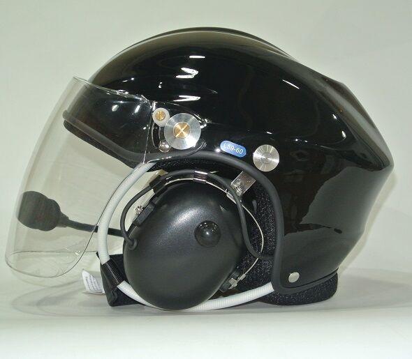 Black Color Fiberglass helmet PPG helmet Paramotor air sport helmet on sale