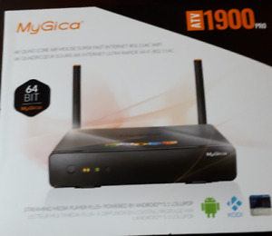 Android TV Box MyGica 1900 - 64 Bit - 4KQuad Core