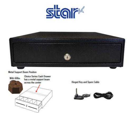 Star 14 Inch Cd4-1416bk45 Choice 5 Coin 4 Bill  Cash Drawer Black 37968000  New