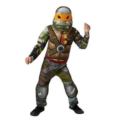 Boys Teenage Mutant Ninja Turtle 2 Movie Fancy Dress Super Hero - Teenage Mutant Hero Turtle Kostüm