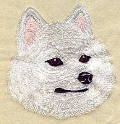 Embroidered Fleece Jacket - American Eskimo I1222 Sizes S - XXL