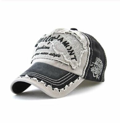 Baseball Cap Jamont Distressed New Era - Black - BB0081