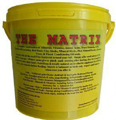 5kg Matrix Grits & Minerals for Pigeons & Chickens 6 Sold
