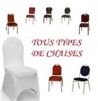 Housses de chaises à louer