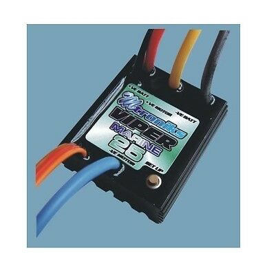 Mtroniks Viper Marine 25 Electronic Speed Controller (VIP25M) RC Model Boats