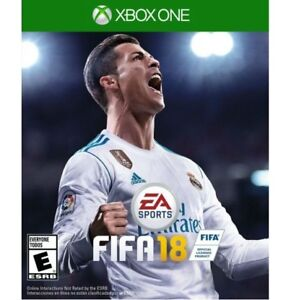 FIFA 18 for Xbox one like new