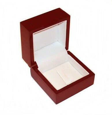 1 New Cherry Wood Standard Or Championship Ring Jewelry Display Gift Box