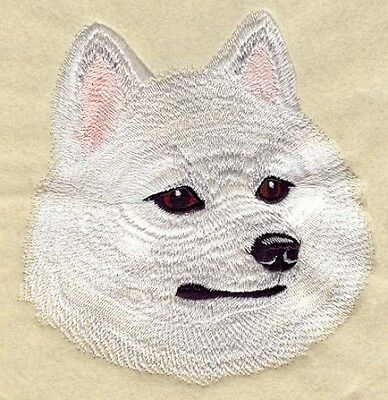 Embroidered Short-Sleeved T-shirt - American Eskimo I1222  Sizes S - XXL