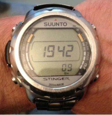 Suunto Stinger Diving Computer Glass Protectors x 20 Vinyl Circles.  D6 and D9