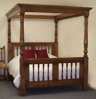 Solid African Mahogany Bed Frame