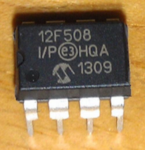 5 Pcs New 12f508 Dip8 Ic Chip