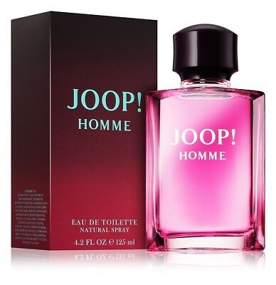 JOOP! HOMME 125ML EAU DE TOILETTE SPRAY BRAND NEW & BOXED