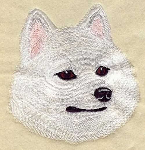 Embroidered Sweatshirt - American Eskimo I1222 Sizes S - XXL
