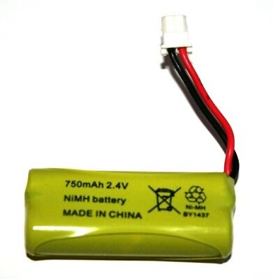 Motorola MBP421 Baby Monitor Rechargeable Battery 2.4v 750mah NiMH UK