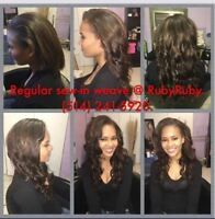 Partial sew-in weave / Hair Extensions / Rallonges