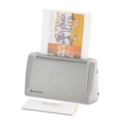 Martin Yale P6200 Electric Desktop Letter Folder 36 Sheets Per Min Save Time New