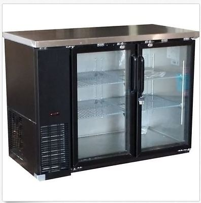 Alamo Xubb48 49 11.8cf 2-door Back-bar Refrigerator Glass Beer Bottle Cooler