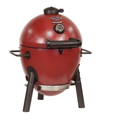 Charcoal Grill Akorn Kamado Kooker Jr. Outdoor Cooking Durable Backyard Barbecue