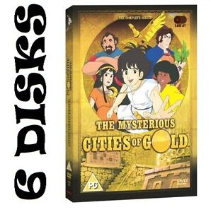 The Mysterious Cities Of Gold: Complete BBC Series NEW & SEALED DVD (5 Disks)