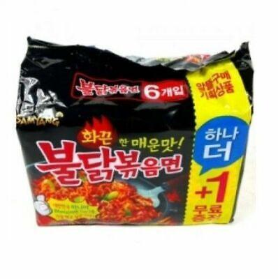SAMYANG Korean Spicy Chicken Noodle BULDAKBOKEUM Ramen 5pcs + 1pc(f_RU