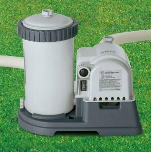 🌊 Intex 2500 GPH Filter Cartridge Pump Above Ground Swimming Timer (11473EG)