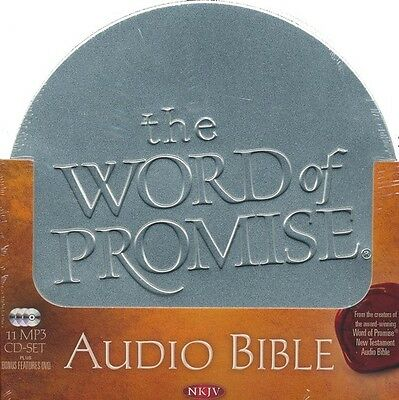 The Word of Promise Complete Audio NKJV Bible MP3 CDs Set OT & NT, Thomas Nelson
