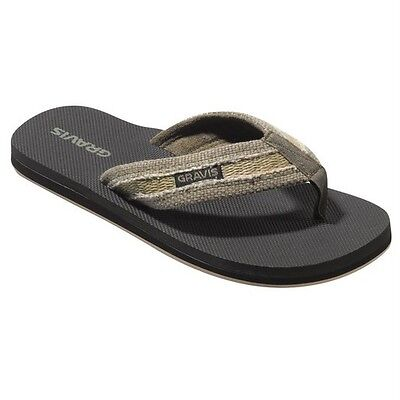 Gravis Hemperpedic Flip Flop Sandals Men's 8 Nip $44