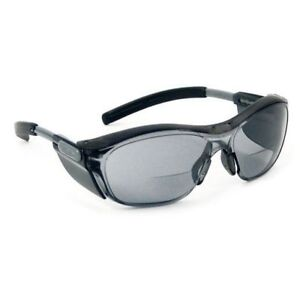 NEW AOSafety Nuvo Tinted Safety Glasses - Bi-focal +2.5