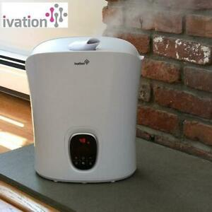 NEW IVATION DIGITAL HUMIDIFIER IVADIGHUM606W 244777933 WITH WARM AND COOL MIST 1.26GAL