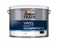 20L Dulux Trade Paint (white)