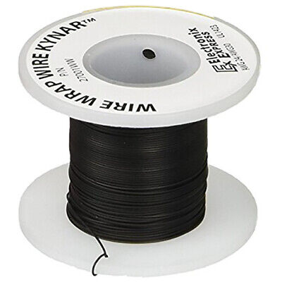Wire Wrap Solid Kynar Wire 30 Gauge Black 100 Feet