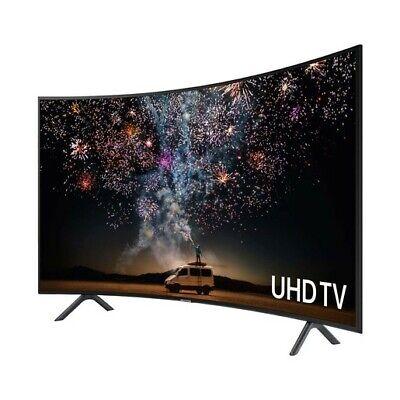 "Samsung 55"" Curved Screen QLED TV television 4k Smart Tv 55 Inch SALE!"