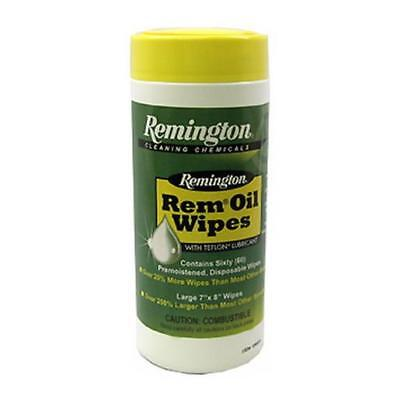 Remington 18384 Pop-Up Rem Oil Lube Gun Cleaning Wipes