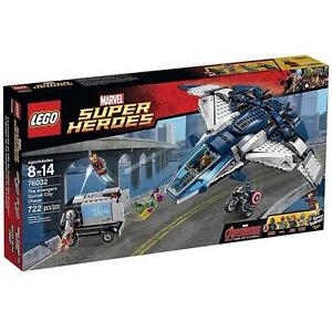 NEW LEGO SUPER HEROES THE AVENGERS - 112802317 - AGE OF ULTRON QUINJET CITY CHASE BUILDING SET - MARVEL