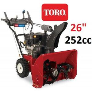 "NEW TORO POWER MAX SNOW BLOWER 26"" 37780 159522708 2 STAGE  POWER MAX 826 OE"