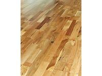 Canadian solid oak floor