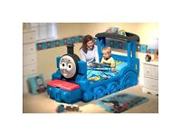 Little Tikes Thomas the Tank Engine toddler train bed.