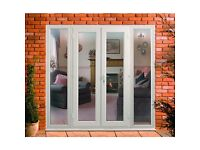 Wanted French or patio doors must be 2Metre wide or have side windows to make it 2 metres