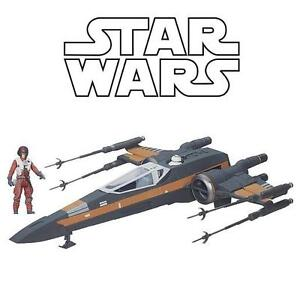 NEW STAR WARS POE'S X-WING FIGHTER - 110517511 - THE FORCE AWAKENS HASBRO