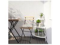 *spotless* corner plant stand - Ikea Socker