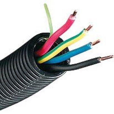 Flexcab™ A2U25BMNPT Pipa Del Cable Con Alimentación Eléctrica 5G 100m ° 20mm
