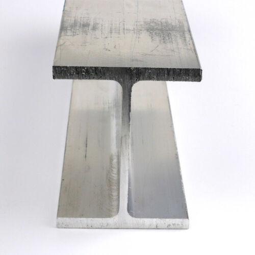 """6061-T6 Structural Aluminum I Beam 4.00"""" x 3.00"""" x .23/.15 x 60""""-Long"""